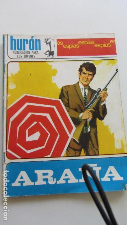 HURON Nº 36 ARAÑA ESPIAS ED. TORAY CX07 (Comics - Toray - Espionaje)