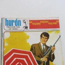 Tebeos: HURON Nº 36 ARAÑA ESPIAS ED. TORAY CX07. Lote 153481254