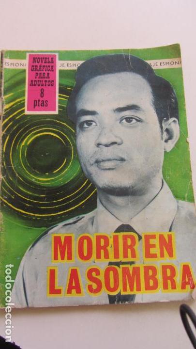 ESPIONAJE - Nº 34 -MORIR EN LA SOMBRA - ED. TORAY CX07 (Comics - Toray - Espionaje)