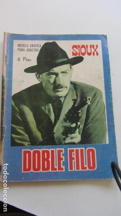 SIOUX Nº 79 DOBLE FILO TORAY 1968 CX07 (Tebeos y Comics - Toray - Sioux)