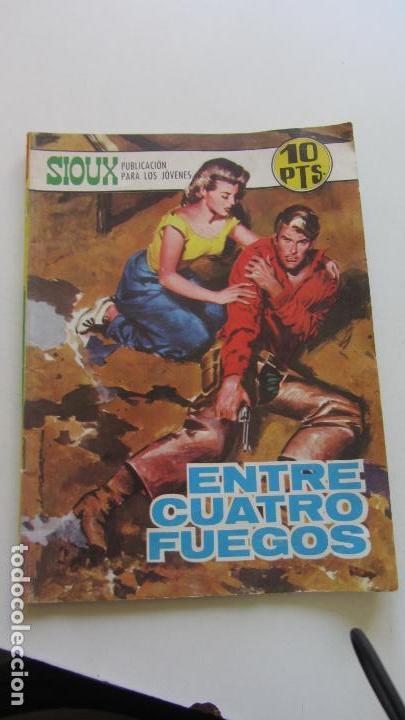 SIOUX Nº 128 ENTRE CUATRO FUEGOS ED. TORAY CX07 (Tebeos y Comics - Toray - Sioux)