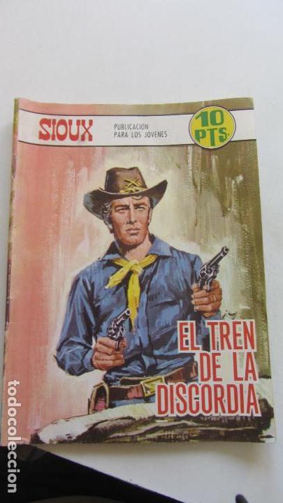 SIOUX Nº 103 EL TREN DE LA DISCORDIA* / MONICA VITTI EN CONTRAPORTADA. TORAY -CX07 (Tebeos y Comics - Toray - Sioux)