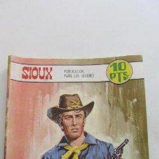 Tebeos: SIOUX Nº 103 EL TREN DE LA DISCORDIA* / MONICA VITTI EN CONTRAPORTADA. TORAY -CX07. Lote 153484794
