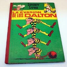 Tebeos: LA EVASIÓN DE LOS DALTON- LUCKY LUKE - EDICIONES TORAY - 1964 - PRIMERA EDICIÓN. Lote 153550070
