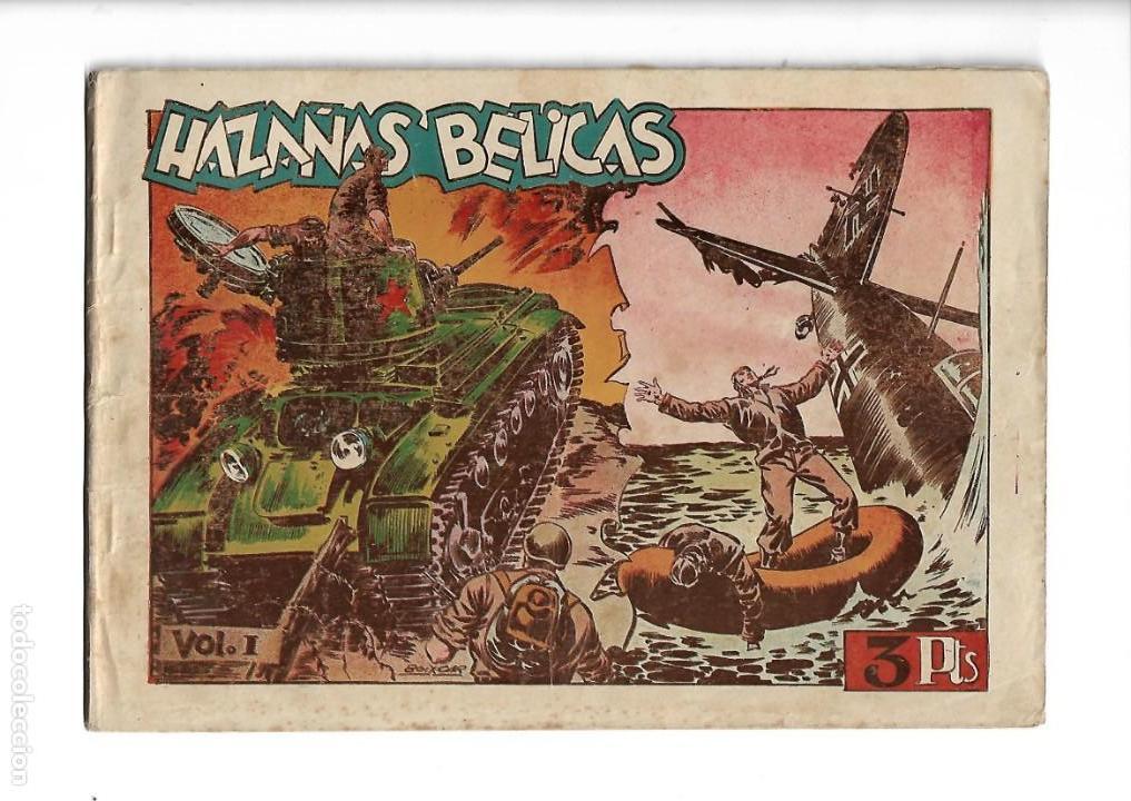 HAZAÑAS BÉLICAS 1ª SERIE ALBUM, COLECCIÓN COMPLETA SON 7. VOLUMENES SON ORIGINALES AÑO 1950. (Tebeos y Comics - Toray - Hazañas Bélicas)