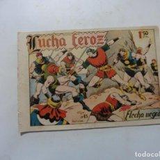 Tebeos: FLECHA NEGRA Nº 15 ORIGINAL. Lote 153965630
