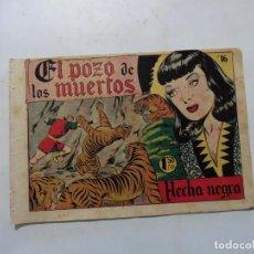 Tebeos: FLECHA NEGRA Nº 16 ORIGINAL. Lote 153965714