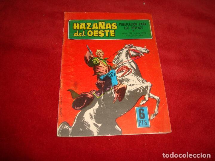 HAZAÑAS DEL OESTE Nº 217 EDITORIAL TORAY 1970 (Tebeos y Comics - Toray - Hazañas del Oeste)