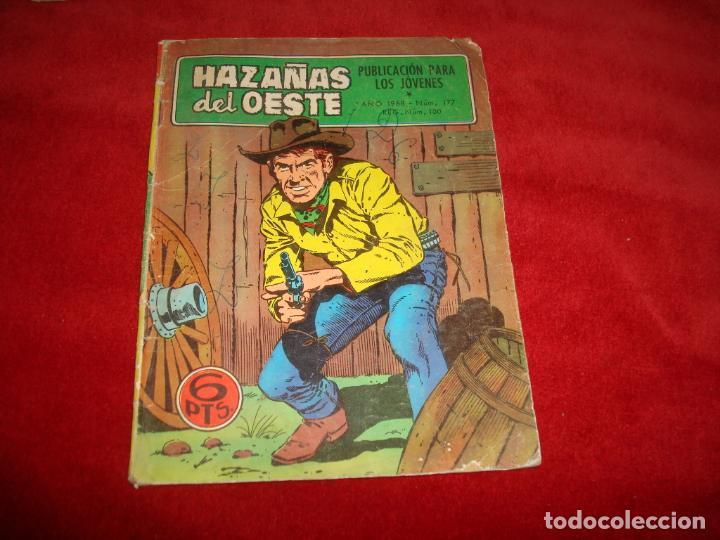 HAZAÑAS DEL OESTE Nº 177 EDITORIAL TORAY 1968 (Tebeos y Comics - Toray - Hazañas del Oeste)