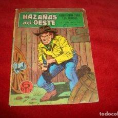 Tebeos: HAZAÑAS DEL OESTE Nº 177 EDITORIAL TORAY 1968 . Lote 154029094