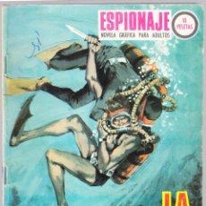 Tebeos: ESPIONAJE - LA SERPIENTE DE MAR - 1967 - TRASERA ALEX SIMMONS. Lote 154136238