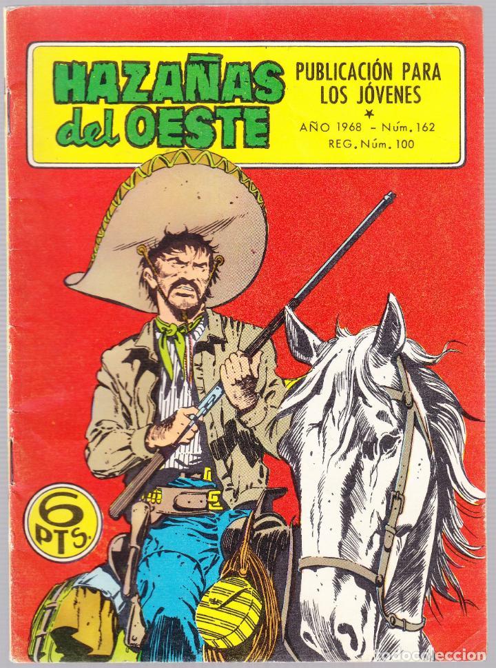 HAZAÑAS DEL OESTE Nº 162 - VAQUERO DE FANTASIA - NARIZOTAS JIM - TRASERA FOTO PELICULA (Tebeos y Comics - Toray - Hazañas del Oeste)