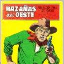 Tebeos: HAZAÑAS DEL OESTE Nº 146 - JOHNNY EL DE LA SUERTE - PISTOLA DE MADERA - TRASERA FOTO PELICULA. Lote 154142902