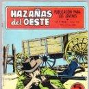Tebeos: HAZAÑAS DEL OESTE Nº 155 - PARTIDA PELIGROSA - TRAICION AL AMANECER - TRASERA FOTO PELICULA. Lote 154143082