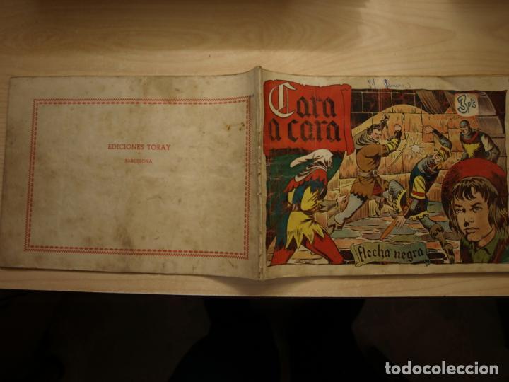 FLECHA NEGRA - ALBUM - CARA A CARA - ORIGINAL - 3 PTS - TORAY (Tebeos y Comics - Toray - Flecha Negra)