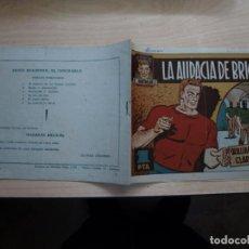 Tebeos: BRICK EL INDOMABLE - LA AUDACIA DE BRICK - NÚMERO 6 - ORIGINAL - TORAY. Lote 154528814