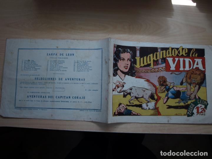 ZARPA DE LEON - NÚMERO 24 - ORIGINAL - TORAY (Tebeos y Comics - Toray - Zarpa de León)