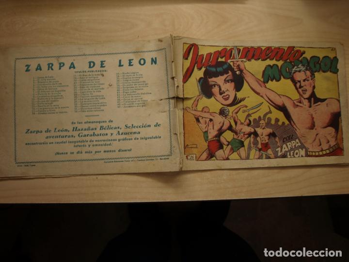 ZARPA DE LEON - NÚMERO 47 - ORIGINAL - TORAY (Tebeos y Comics - Toray - Zarpa de León)