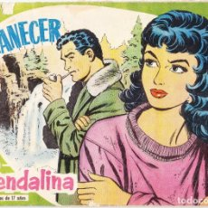 Tebeos: AMANECER - COLECCION GUENDALINA Nº 7 - 1959 - TRASERA ALAN LADD. Lote 154595174