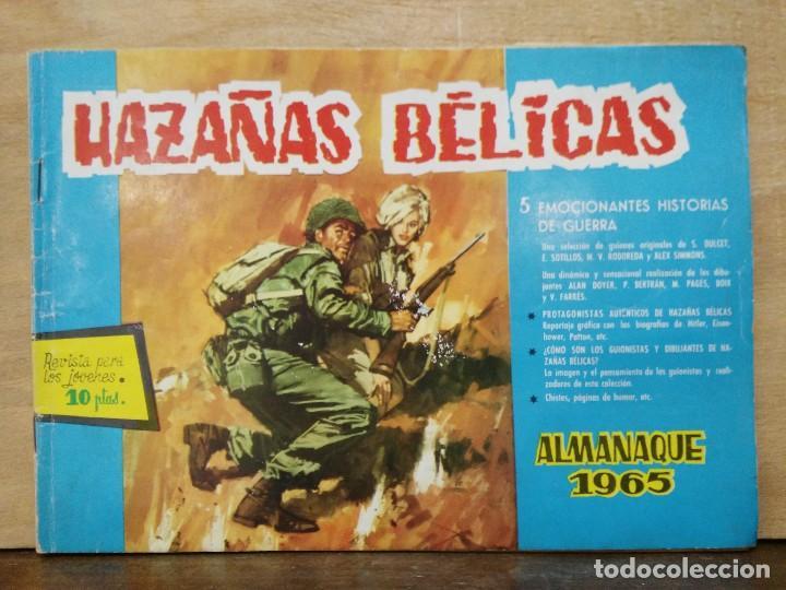 HAZAÑAS BÉLICAS - ALMANAQUE 1965 - ED. TORAY (Tebeos y Comics - Toray - Hazañas Bélicas)