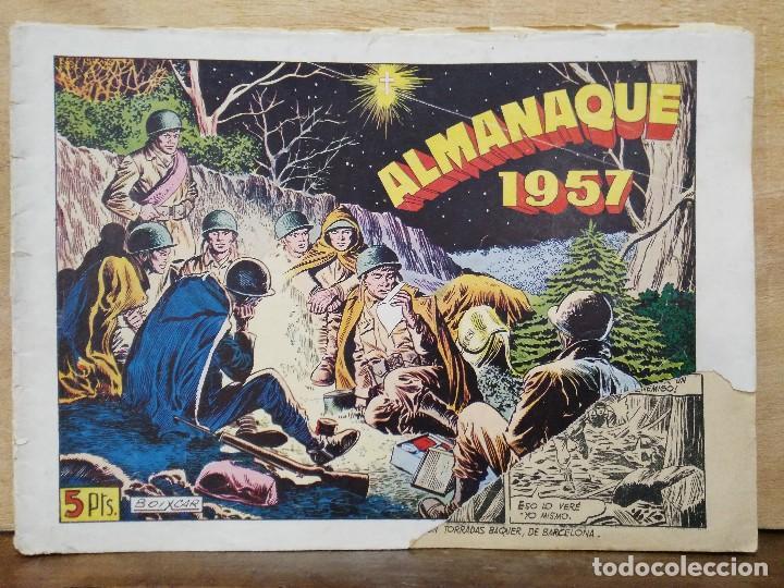 HAZAÑAS BÉLICAS - ALMANAQUE 1957 - ED. TORAY (Tebeos y Comics - Toray - Hazañas Bélicas)