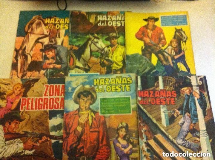 HAZAÑAS DEL OESTE -LOTE DE 5 (Tebeos y Comics - Toray - Hazañas del Oeste)