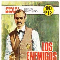 Tebeos: SIOUX Nº 100 - LOS ENEMIGOS - TRASERA CYD CHARISSE. Lote 154617834