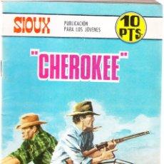 Livros de Banda Desenhada: SIOUX Nº 97 - CHEROKEE - TRASERA IRINA DEMICH. Lote 154620726