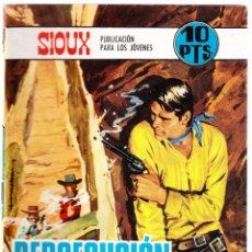Livros de Banda Desenhada: SIOUX Nº 115 - PERSECUCION IMPLACABLE. Lote 154621098