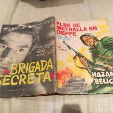 Giornalini: HAZAÑAS BÉLICAS Nº 56-ALBA DE METRALLA EN DIEPPE-EDICIONES TORAY - AÑO 1963.. Lote 154662798