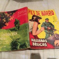 Giornalini: HAZAÑAS BÉLICAS Nº 58 - PIES DE BARRO - EDICIONES TORAY - AÑO 1963. Lote 154663410