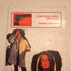 Tebeos: BRIGADA SECRETA Nº 8. TORAY 1982. Lote 154668290
