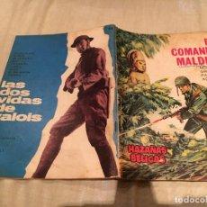 Giornalini: HAZAÑAS BÉLICAS Nº 138 - EL COMANDO MALDITO - EDICIONES TORAY - AÑO 1966. Lote 154681790