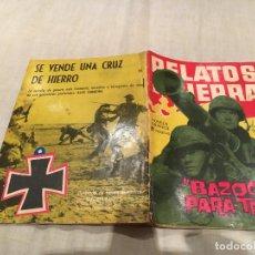 Tebeos: RELATOS DE GUERRA Nº 20 - BAZOKA PARA TRES - EDICIONES TORAY - 1963. Lote 154802434