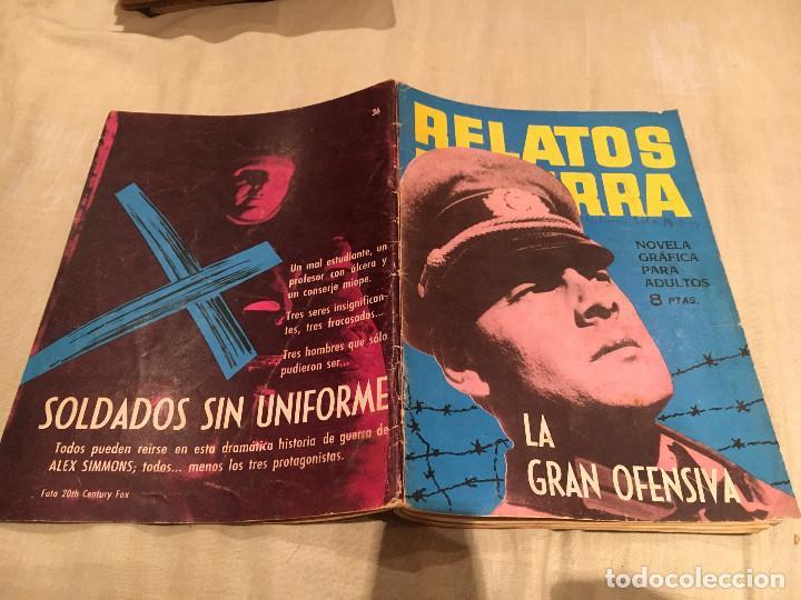 RELATOS DE GUERRA Nº 36 - LA GRAN OFENSIVA - EDICIONES TORAY - 1964 (Tebeos y Comics - Toray - Otros)