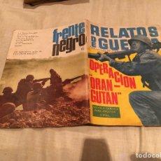 Tebeos: RELATOS DE GUERRA Nº 112 - OPERACION ORANGUTAN - EDICIONES TORAY - 1966. Lote 154804306