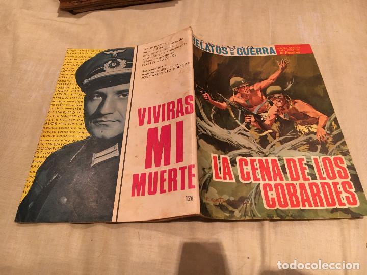 RELATOS DE GUERRA Nº 126, LA CENA DE LOS COBARDES - EDICIONES TORAY - 1967 (Tebeos y Comics - Toray - Otros)