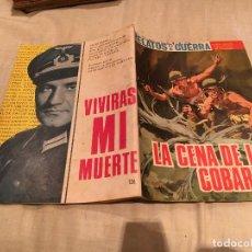 Tebeos: RELATOS DE GUERRA Nº 126, LA CENA DE LOS COBARDES - EDICIONES TORAY - 1967. Lote 154804650