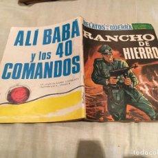 Tebeos: RELATOS DE GUERRA Nº 128 - RANCHO DE HIERRO- EDICIONES TORAY - 1967. Lote 154804894