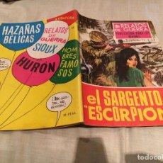 Tebeos: RELATOS DE GUERRA. Nº 151. EL SARGENTO ESCORPIÓN - EDICIONES TORAY - 1968. Lote 154805814