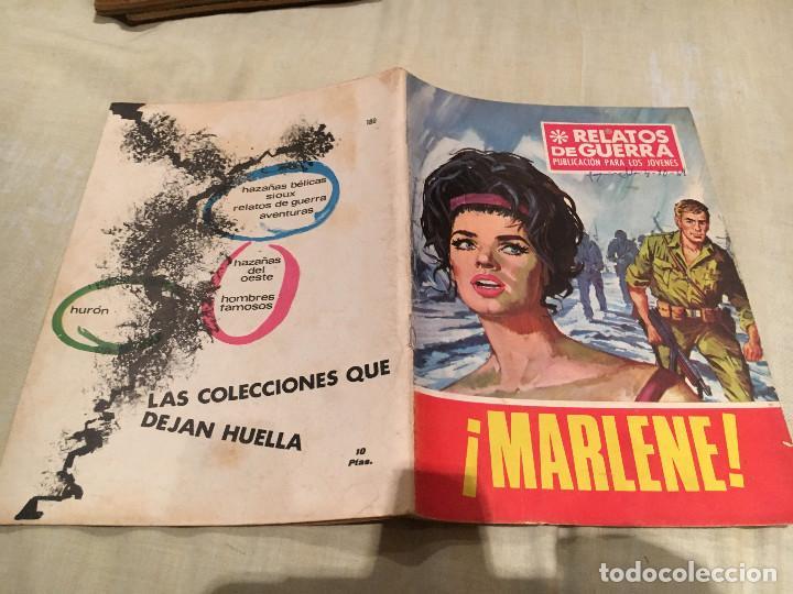 RELATOS DE GUERRA Nº 180- MARLENE - EDICIONES TORAY - 1969 (Tebeos y Comics - Toray - Otros)