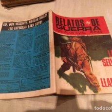 Tebeos: RELATOS DE GUERRA Nº 206.LA SELVA EN LLAMAS - EDICIONES TORAY - 1970. Lote 154808210