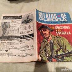 Tebeos: RELATOS DE GUERRA, Nº 217, LOS SOLDADOS Y LA ESTRELLA, - EDICIONES TORAY - 1970. Lote 154808550