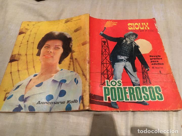 SIOUX Nº 43 - LOS PODEROSOS - EDICIONES TORAY-1965 (Tebeos y Comics - Toray - Sioux)