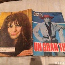 Tebeos: SIOUX Nº 76 - UN GRAN TIPO - EDICIONES TORAY-1967. Lote 154885986