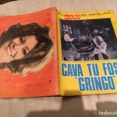 Tebeos: SIOUX Nº 77 CAVA TU FOSA GRINGO - EDICIONES TORAY-1967. Lote 154886274