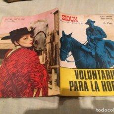 Tebeos: SIOUX Nº 81 VOLUNTARIO PARA LA HORCA - EDICIONES TORAY-1967. Lote 154886518