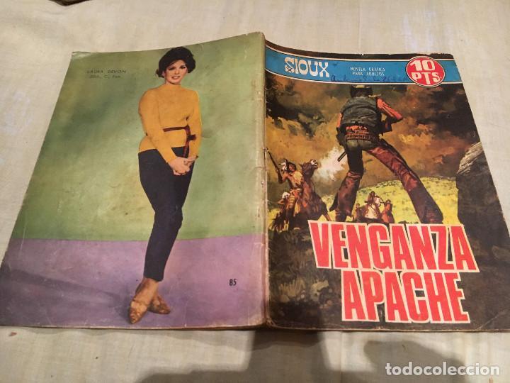 SIOUX Nº 85 - VENGANZA APACHE - EDICIONES TORAY-1967 (Tebeos y Comics - Toray - Sioux)