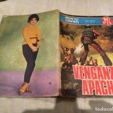 Tebeos: SIOUX Nº 85 - VENGANZA APACHE - EDICIONES TORAY-1967. Lote 154886790