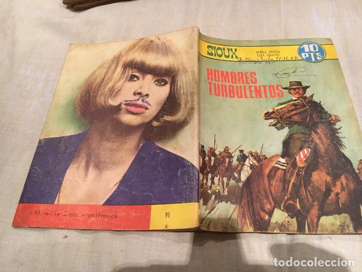 SIOUX Nº 91 - HOMBRES TURBOLENTOS - EDICIONES TORAY-1967 (Tebeos y Comics - Toray - Sioux)